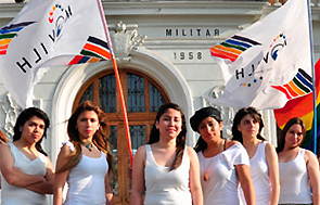 Seis candidatas del evento chileno celebrado en 2012.