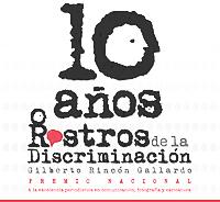 Logo Representativo del Premio Rostros de la Discriminación