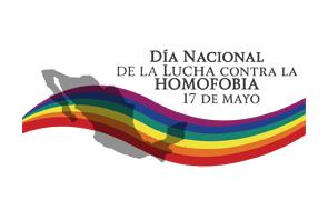Logotipo del Día Nacional de la Lucha contra la Homofobia.