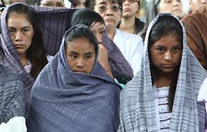 Mujeres indígenas.