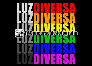 logo del cartel del concurso Luz Diversa 2012.