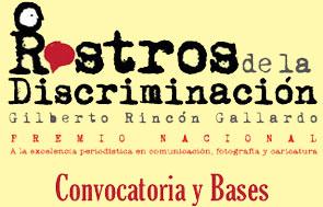 Logotipo del Premio Nacional Rostros de la Discriminación.