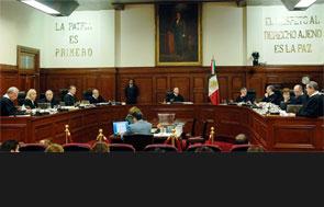 Sala del Pleno de la SCJN