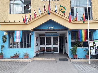 Foto de la fachada del colegio