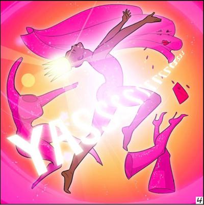 Imagen que muestra el dibujo de la heroina Kickass