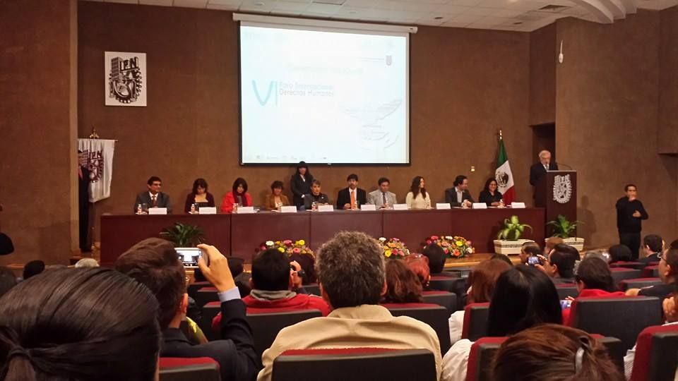 Panel de inauguración del VI Foro Internacional Derechos Humanos y Tecnologías de la Información y la Comunicación