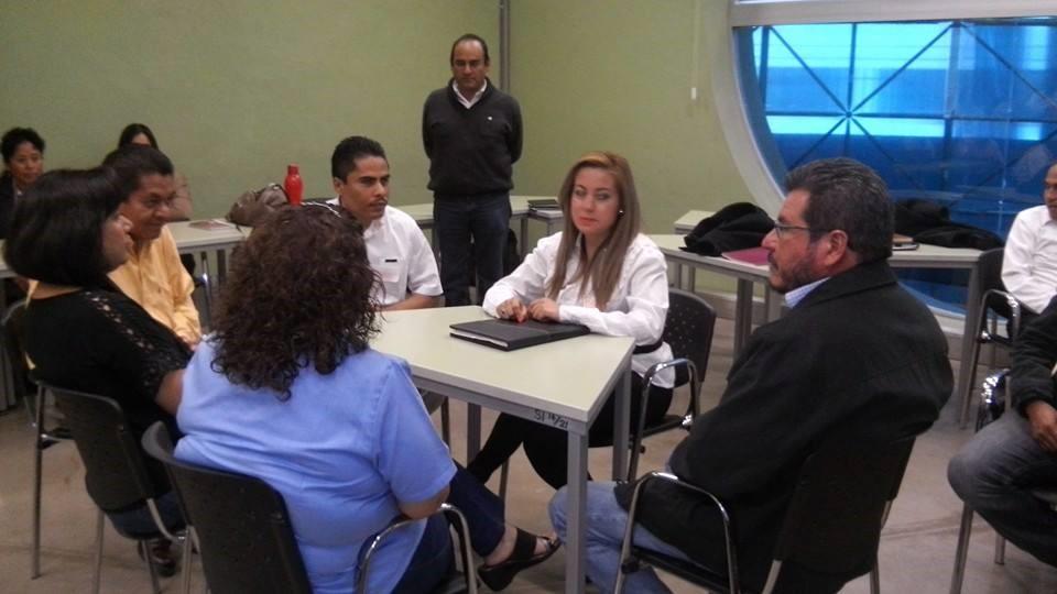 Participantes durante las actividades de la capacitación