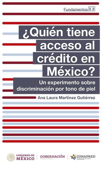 Portada del libro de ¿Quién tiene acceso al crédito en México?