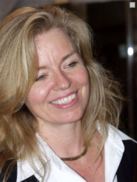La directora de cine Patricia Rozema, de nacionalidad canadiense.