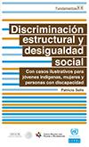Portada del Libro: Discriminación Estructural y Desigualdad Social