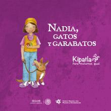 Portada: Nadia, Gatos y Garabatos
