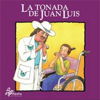 Portada del cuento La tonada de Juan Luis, versión impresa.