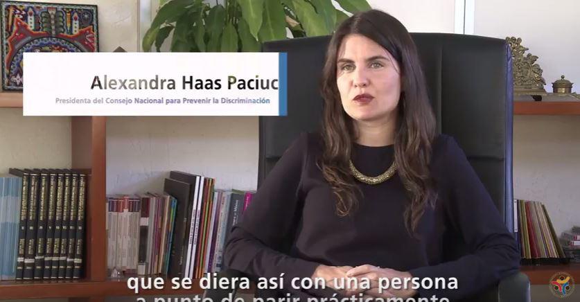Imagen del Vídeo de la Norma en Igualdad Laboral y No Discriminación