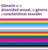 Portada del glosario de la diversidad sexual, de género y características sexuales