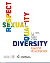 Portada de la Guía contra homofobia.