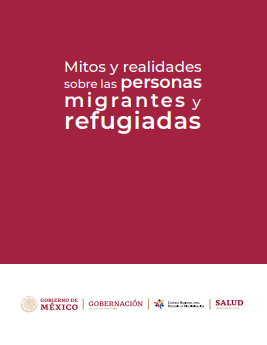 Portada del libro: Mitos y Realidades de las Personas Migrantes y refugiadas