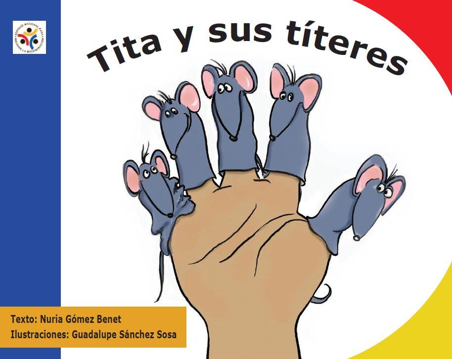 Imagen que muestra la portada del libro Tita y sus Títeres